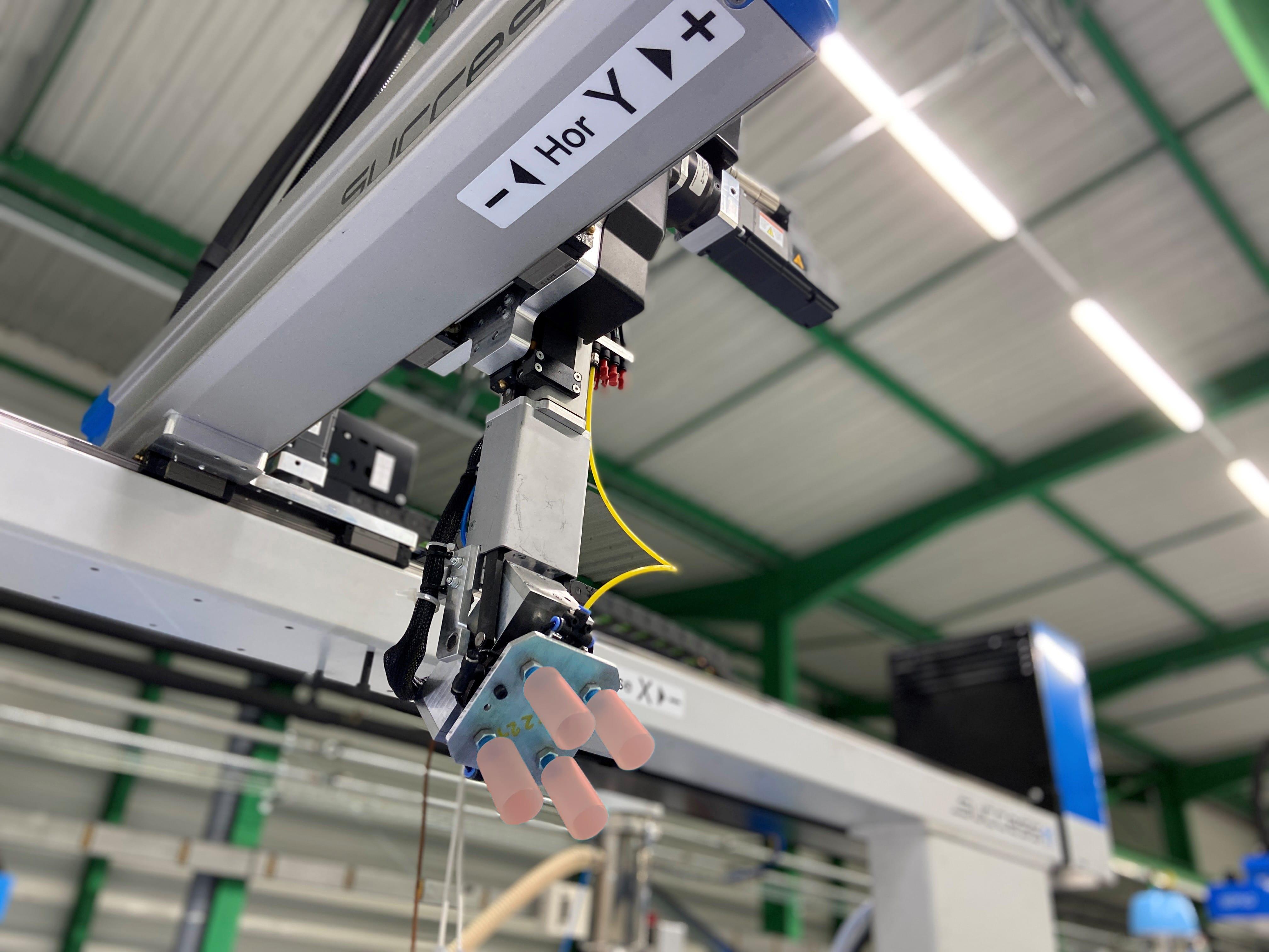 Investissement dans 14 nouvelles machines (injection et décoration)