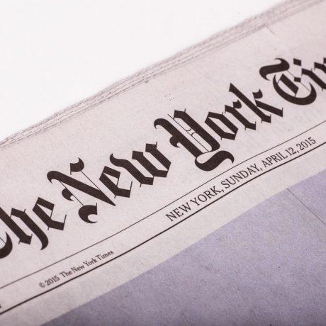 PRP Creation dans le NewYork Times