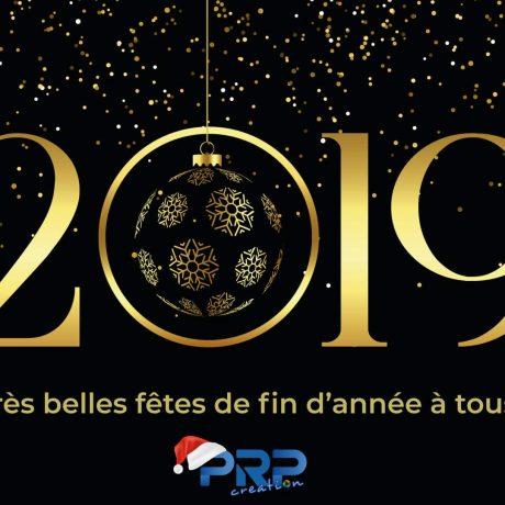 Vœux 2019 PRP Creation